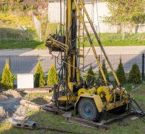 Wiercenie studni głębinowych metodą udarowo-obrotową